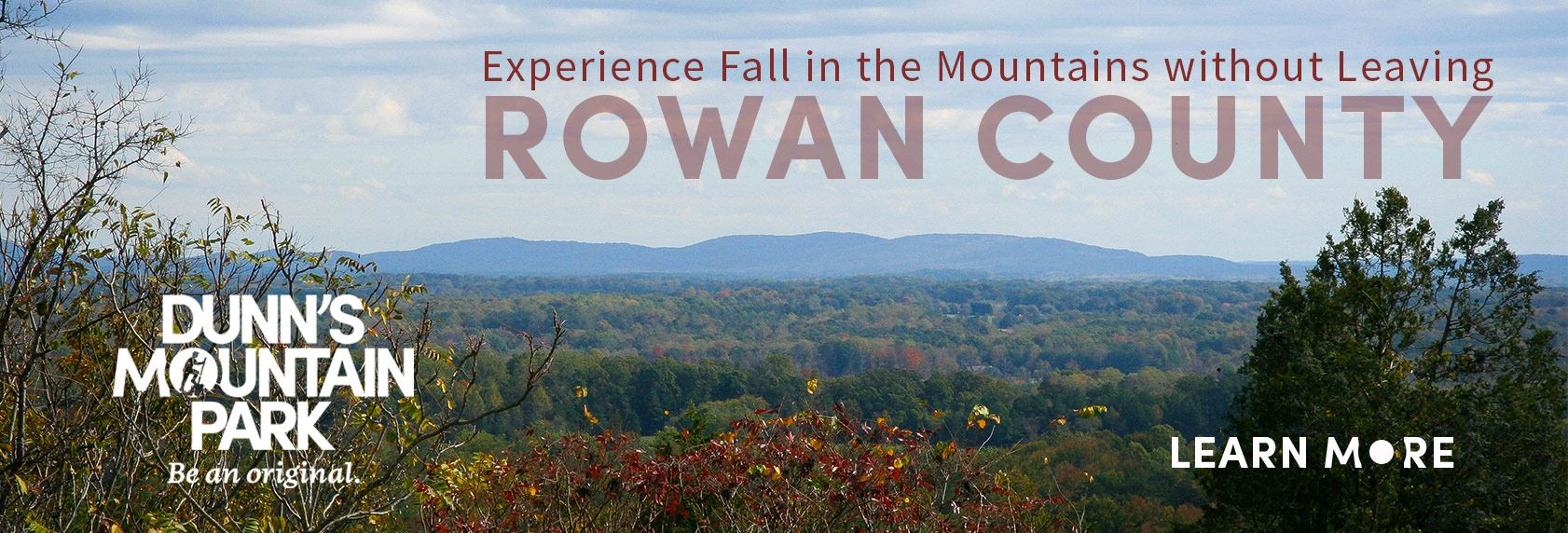 Experience fall in the mountains without leaving Rowan County by visiting Dunn's Mountain Park -